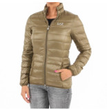 EA7 Down jacket groen