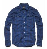 G-Star 3301 slim shirt donker d10255-a417-9981 blauw