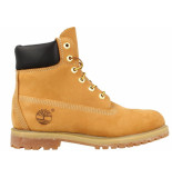 Timberland Dames 6inch premium boots ( t/m 41) geel / honing bruin
