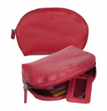 dR Amsterdam Make-up tasje Rood One size