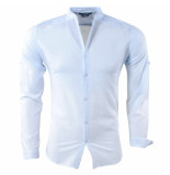 Paname Brothers Heren overhemd slim fit ciota licht blauw