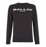 Ballin Amsterdam Sweater antra grijs