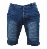 MZ72 Heren bermuda white wash farcry denim blauw