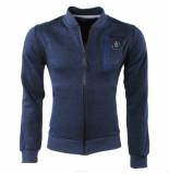 Canadian Peak Heren vest sweat borstzak firmux blauw