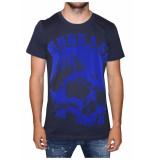 My Brand Thirteen skelet t-shirt donkerblauw