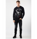 My Brand Eagle risk sweater – zwart