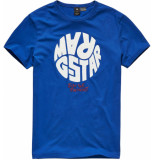 G-Star Graphic 6 t-shirt blauw