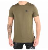 Philipp Plein Statement ss round eck t-shirt groen