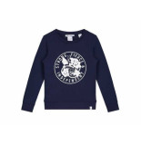 Nik & Nik Sweater strong donker blauw
