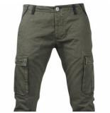 Biaggio Jeans Trendy heren worker lengte 34 tigom groen