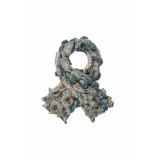 DIDI All-over print zijde sjaal groen