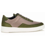 Filling Pieces Low mondo ripple nardo mesh army green