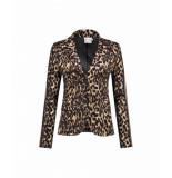 Helena Hart Hart by . blazer kort leopard cognac
