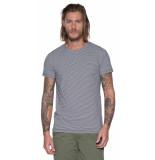 Victim T-shirt met korte mouwen blauw