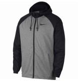Nike M nk dry hd ls fz utility core 038573 grijs