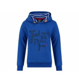 Baker Bridge Hooded sweater kyrna blauw