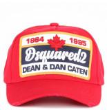 Dsquared2 2 cap rood