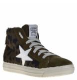 Meline Sneakers groen