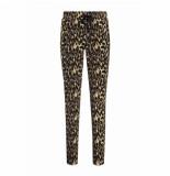 Helena Hart Hart by . broek base bies /gold leopard zwart
