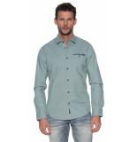 PME Legend Casual shirt met lange mouwen grijs