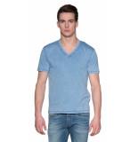 Drykorn Peco t-shirt met korte mouwen blauw