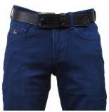 Cobbelti Heren jeans met gratis riem stretch lengte 36 blauw