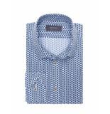 Bertoni of Denmark Overhemd oskar blue blauw