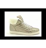 Metro Sneakers Veterschoenen goud