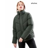 Elvine Lisen puffer jacket dames groen