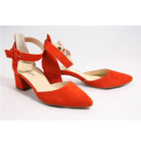 Paul Green 7273-0 pumps rood