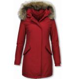 TheBrand Winterjassen rood
