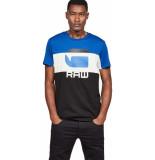 G-Star Graphic 41 t-shirt blauw