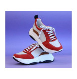 Aaiko Sneaker brooklyn sue 910 red rood
