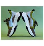 Aaiko Sneaker brooklyn sue 910 olive olijf groen
