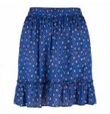 Wanderlust Sahara skirt ikat - blauw