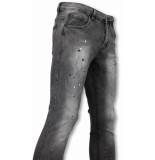 Urban Rags Exclusieve casual jeans grijs