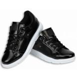 Cash M Heren schoenen zwart