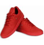 Cash M Heren schoenen rood