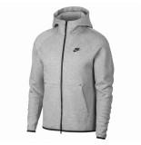 Nike Tech fleece hoodie zwart