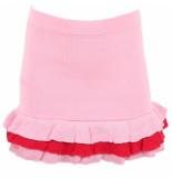 Reinders Valerie ruffle skirt roze