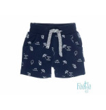 Feetje Short aop captain cool navy blauw