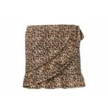 Looxs Revolution Rok met overslag leopard bruin