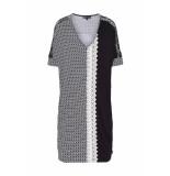 DIDI Oversized jurk met kanten details wit
