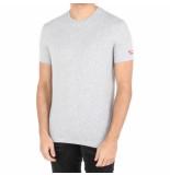 Dsquared2 2 round eck t-shirt grijs