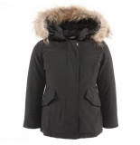 Airforce Kids 2 pocket classic parka zwart