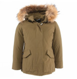 Airforce Kids 2 pocket classic parka groen