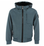 Airforce Kids softshell jacket chest zwart