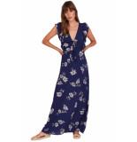 Amuse Carolina dress-pbl blauw