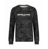 Ballin Amsterdam Sweater Ballin zwart