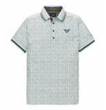 PME Legend Polo's ppss192860 blauw wit